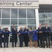 St. Paul Mayor Chris Coleman, Police Chief Todd Axtell and others celebrate the opening of the Richard H. Rowan Public Safety Training Center at 600 L