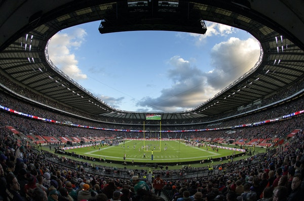 NFL football at Twickenham Stadium in London Minnesota Vikings vs. Cleveland Browns. ] CARLOS GONZALEZ ï cgonzalez@startribune.com - October 29, 2017