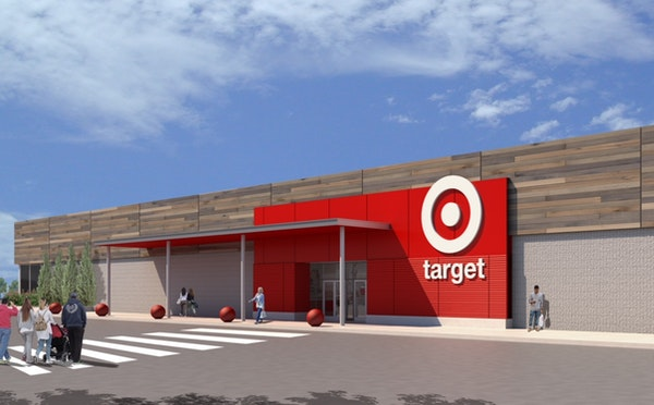 A rendering of what the Target will look like in Vermont, making the Minneapolis retailer a 50-state chain.