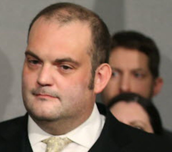DFL State Sen. Dan Schoen, shown in 2016, denies allegations that he sexually harassed women involved in state politics.