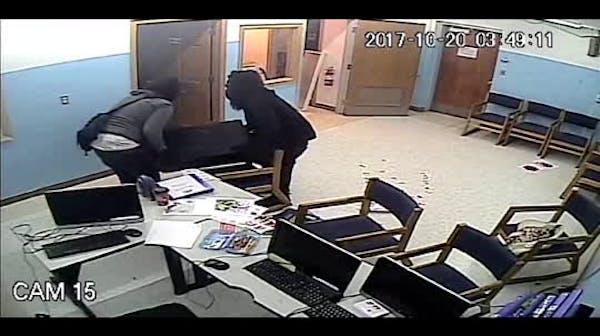 Surveillance video of burglary of Bloomington Islamic Center released