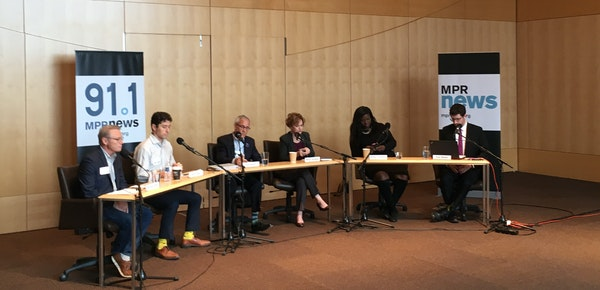 Minneapolis mayoral candidates participated in a forum on Monday.