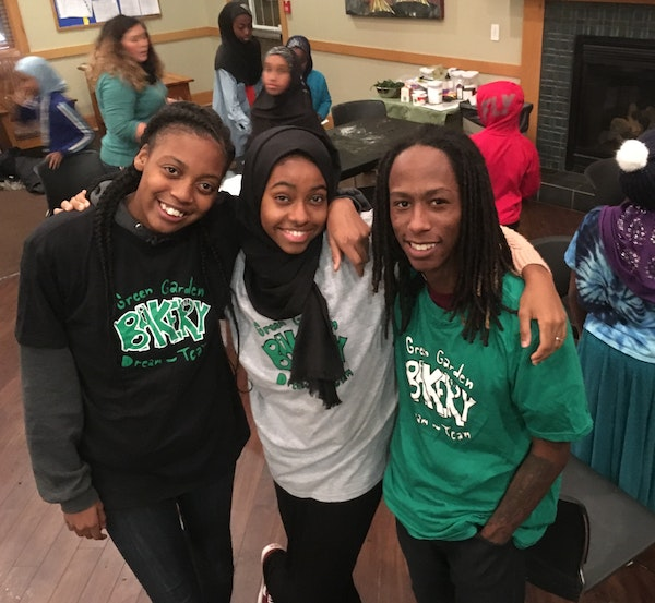 Green Garden Bakery executives: Jasmine Salter, Leensa Ahmed, Jacobi Simmons and other members of the leadership team have helped build an innovative