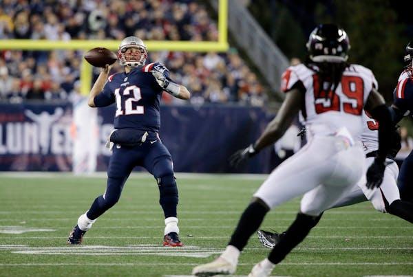 New England quarterback Tom Brady has the look of an NFL MVP, yet again.
