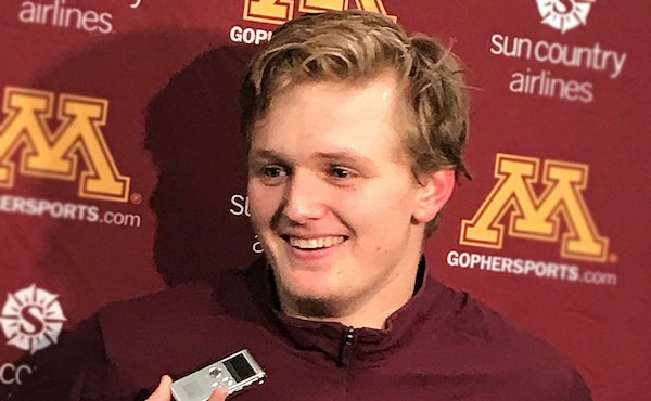 Casey Mittelstadt expects more after 'slow start' to Gophers career