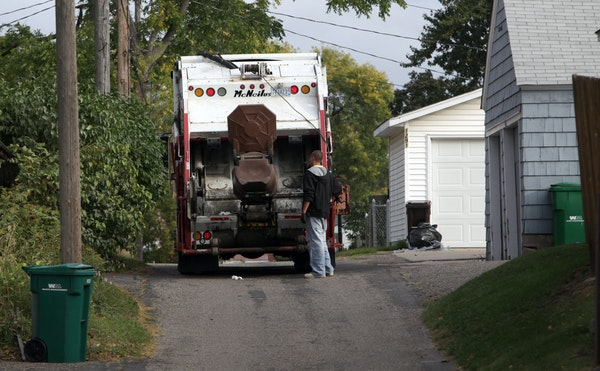 Some residents question whether St. Paul's decision to use a consortium of haulers this fall to create a centralized system, including uniform trash