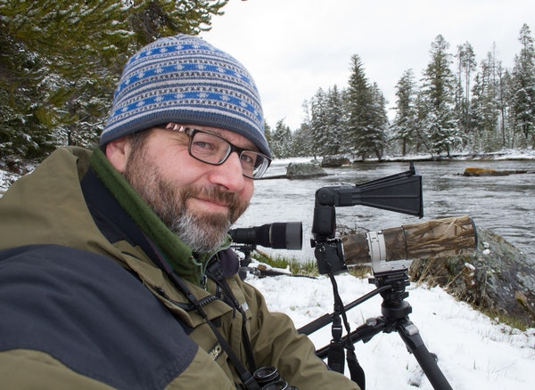 Mark Stensaas' outdoors pursuits have taken him to Yellowstone National Park and well beyond.