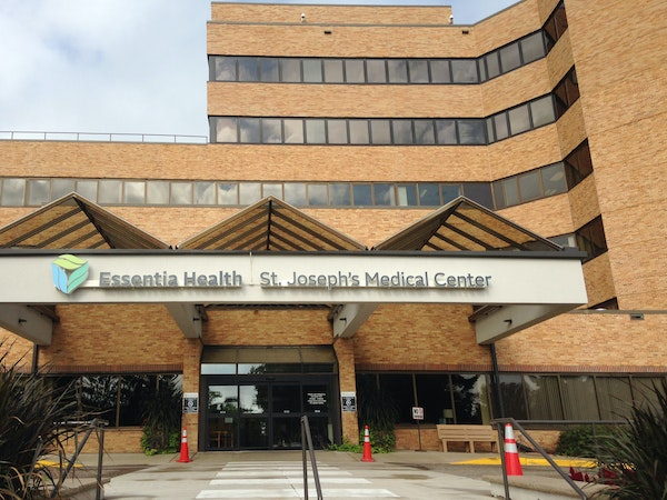 St. Joseph's Medical Center in Brainerd has stopped accepting patients with severe psychiatric probems who are court-ordered to receive treatment, i