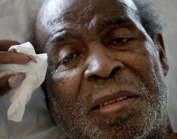 """James Parker, 77, and his daughter complained about a volatile roommate. """"He nearly beat the life out of me,"""" Parker said."""
