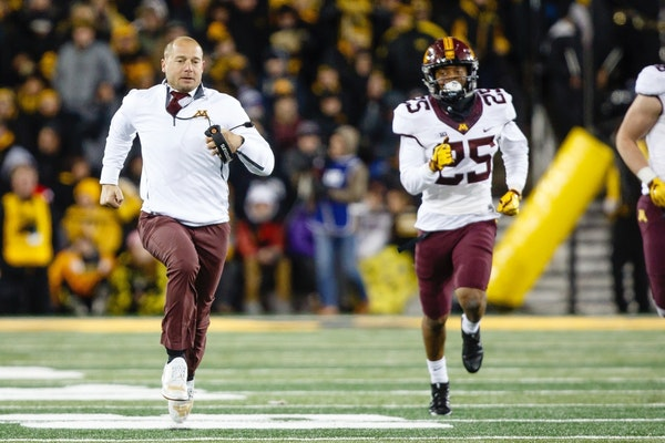From the day P.J. Fleck was hired as head coach, the Gophers football loyalists have been downgrading the nine wins for Claeys as having been the resu