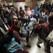 """Irondale High School students walked through a section call """"four corners"""" area during lunch hour Thursday October 26,2017 in New Brighton, MN. ]"""