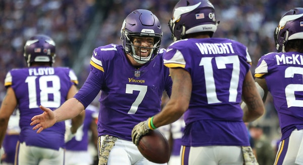 Is Keenum a top-10 NFL MVP candidate?