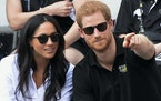 Prince Harry and Meghan Markle, shown in 2017.