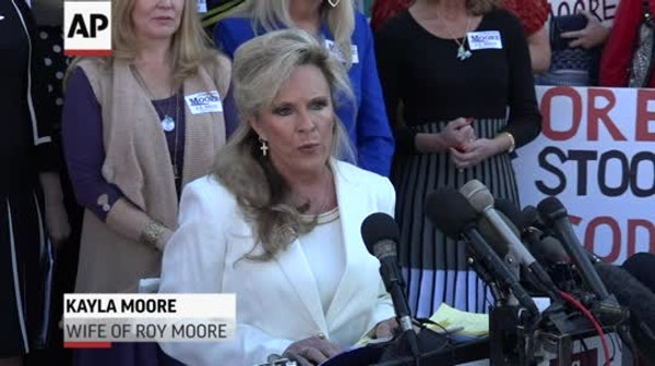 Wife: Alabama candidate Roy Moore 'Won't step down'
