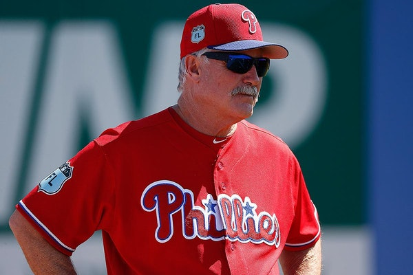 Bob McClure was the Phillies pitching coach last season.
