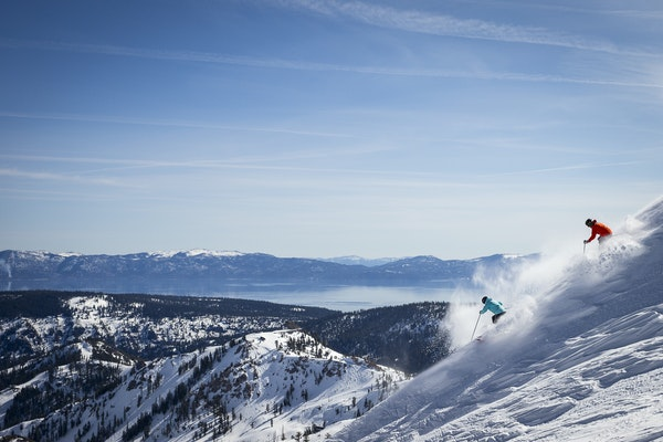 Squaw Valley, which hosted the 1960 Winter Olympics, offers big lake views and options to explore long groomed runs, open bowls, classic mogul lines a