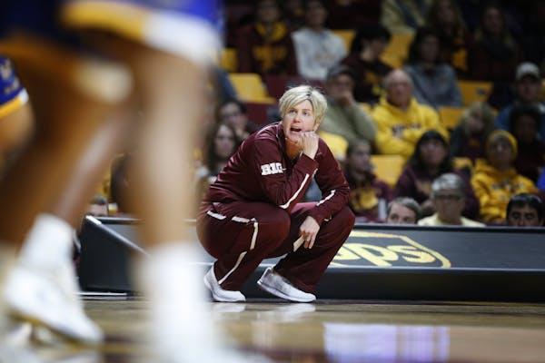 Former Gophers coach Marlene Stollings last December.
