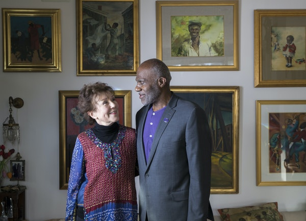"""Diane and Alan Page's home is full of African-American art, antiques and artifacts. Many of these items will be included in an exhibit called """"Tes"""