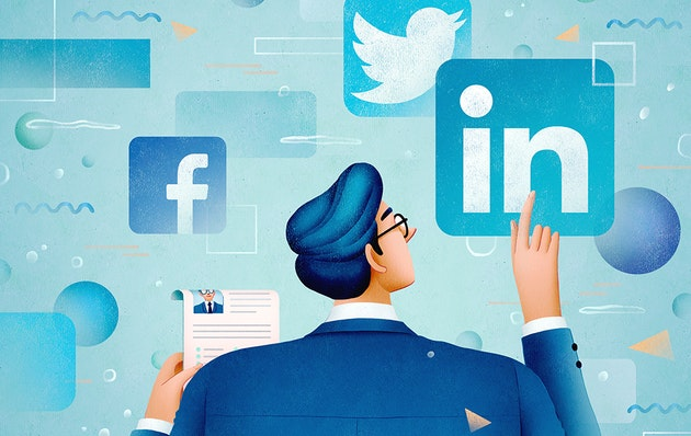 Social media is a valuable tool in the job search