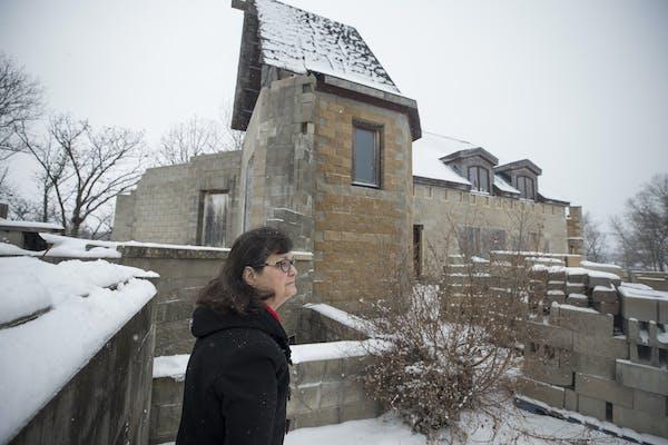 Unfinished dream castle in rural Minnesota seeking new owner