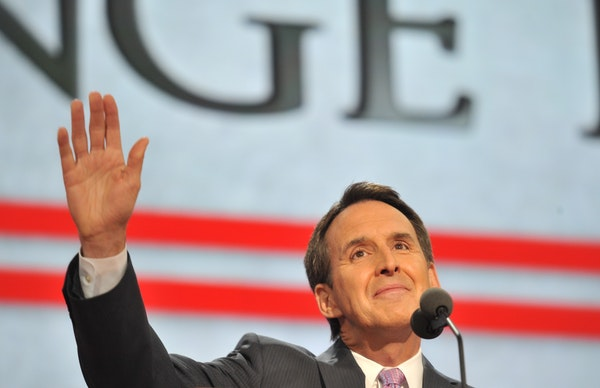 Tim Pawlenty, shown in 2012, last faced Minnesota voters in 2006, when he was narrowly re-elected.