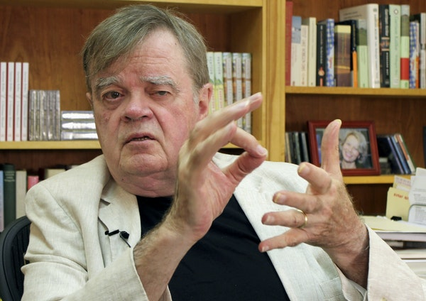"""Garrison Keillor accused Minnesota Public Radio of a """"breach of good faith"""" in releasing complaint details."""