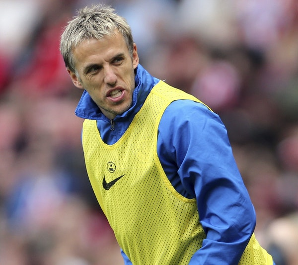 Phil Neville, England women's national team coach