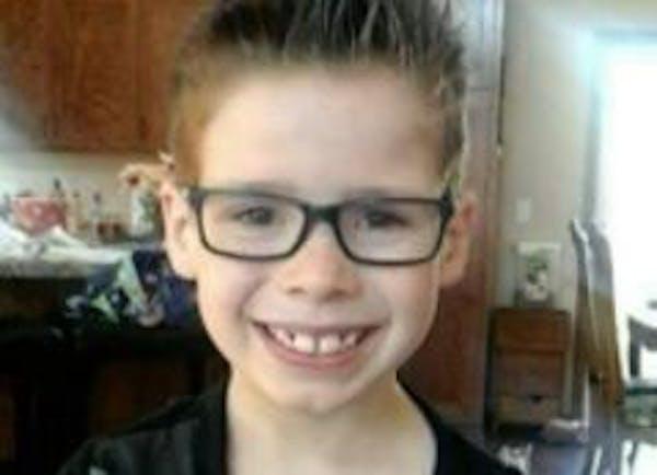 Alan Geisenkoetter Jr., 8, died late Wednesday of his injuries.
