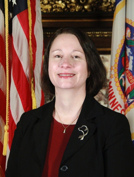 Brig. Gen. Johanna Clyborne, currently director of the joint staff of the Minnesota National Guard, will become commissioner of Minnesota IT Services,