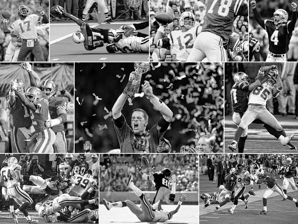 How many of these amazing Super Bowl moments can you identify?