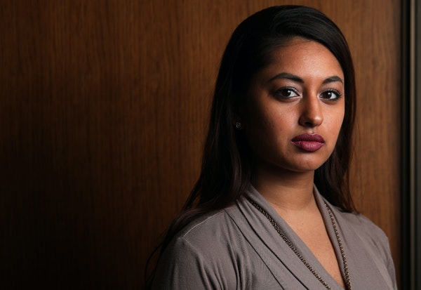 Hennepin County's Amanda Koonjbeharry helps lead a group working to address sex trafficking during the Super Bowl.