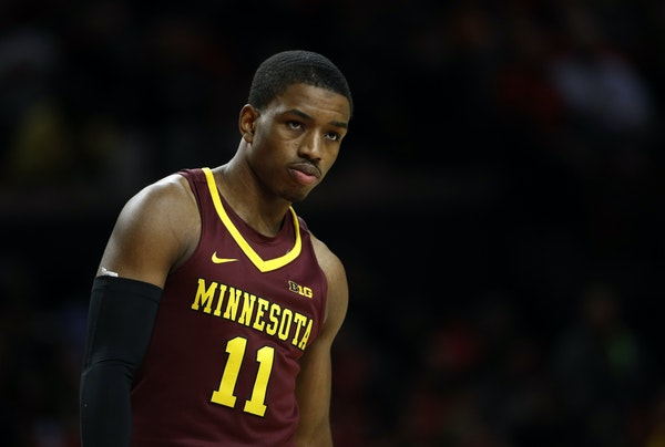Gophers guard Isaiah Washington played just seven minutes against Maryland earlier this month, missing all three of his shots and finishing scoreless.