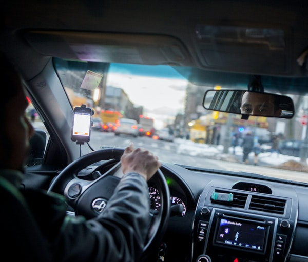 Both Uber and Lyft driver services have made preparations for a surge in service requests for the Super Bowl game on Sunday, adding scores of drivers.