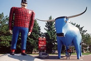 The Bemidji City Council on Monday will review an ordinance that prohibits dressing up Paul Bunyan and Babe the Blue Ox for special events.