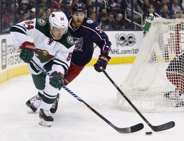 Strong start to second period paves way for Wild's shootout win over Blue Jackets
