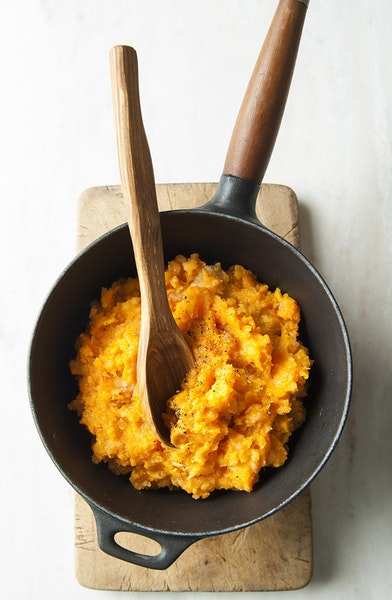 Roast Sweet Potato Purée.