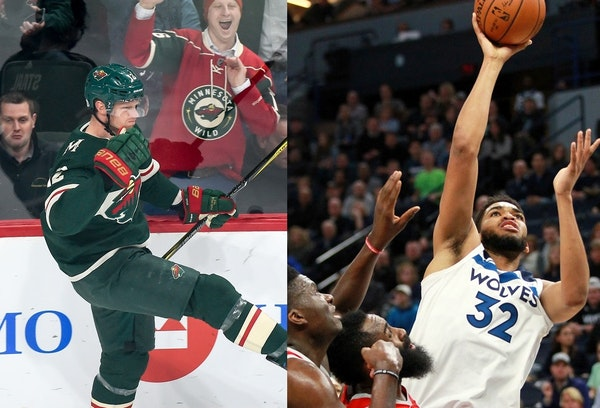 Get ready for mid-April home playoff chaos with Wild, Timberwolves