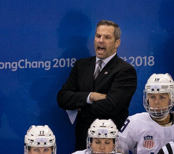 Former Gophers goalie Robb Stauber is head coach of the U.S. women's Olympic team.