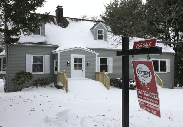 An existing home for sale in Walpole, Mass.