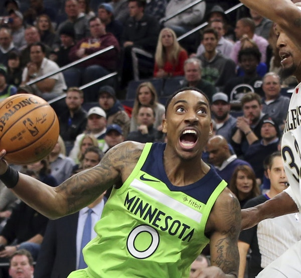 """In his first season with the Wolves, Jeff Teague's scoring average is the lowest it has been since 2011-12. """"Someone has to make a sacrifice,"""" h"""