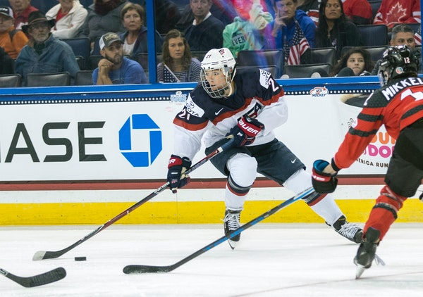 Hilary Knight refused to let the cost of living take her out of the running for the Games.