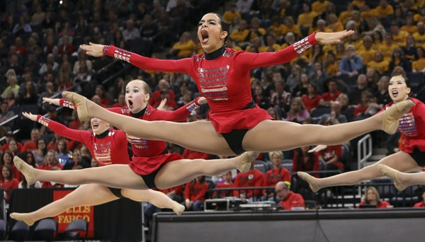 Dance teams shooting for the top Eastview, Sartell-St. Stephen and Frazee captured state championships in the high-kick competition of the state dance