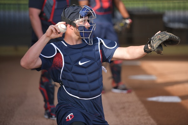 Twins catcher Mitch Garver