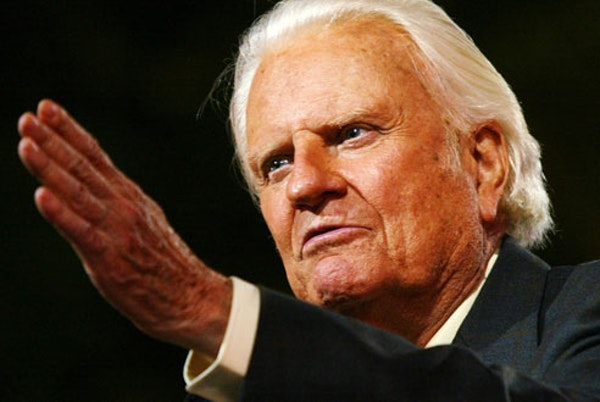 The Rev. Bill Graham has died at age 99.
