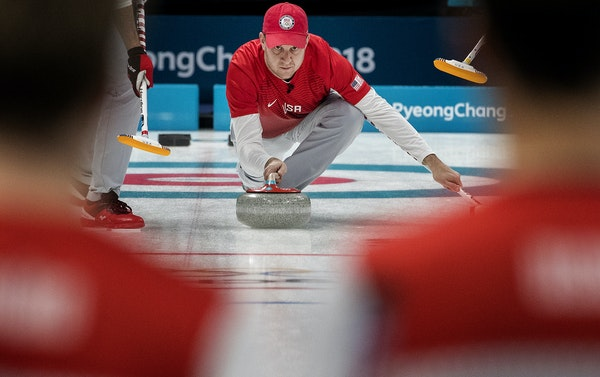 John Shuster's success rate of 73 percent through six games is the lowest of the 10 Olympic skips, and the U.S. also is last in team shooting at 79