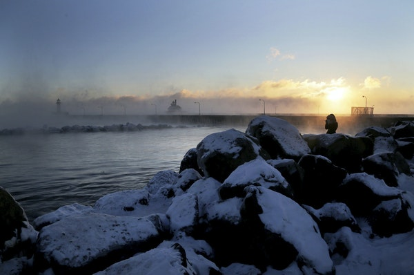 Lake Superior is deep into a Twitter battle with Mount St. Helens.