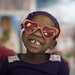 Malaya Perry tried on a pair of heart shaped sunglasses at the early childhood services center at Phyllis Wheatley Community Center Wednesday Feb 14,