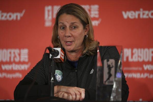 Lynx head coach Cheryl Reeve