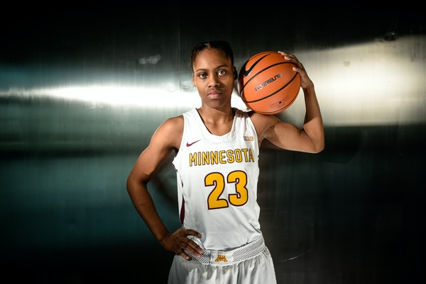 Gophers point guard Kenisha Bell wants to get to her first NCAA tournament this March.