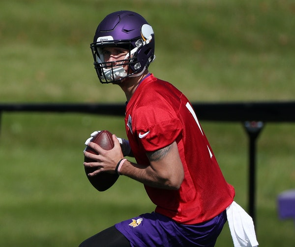 The Vikings paid Kyle Sloter big money on their practice squad before promoting him for fear of losing him to another team.